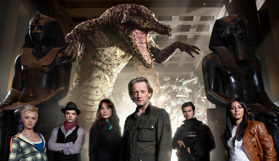 The cast of Primeval that opens the season gets a shake-up by the end