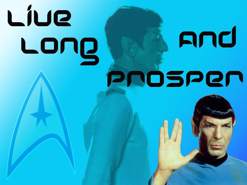 Spock Hintergrund