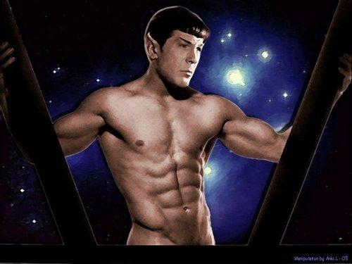 Spock tribute ;)
