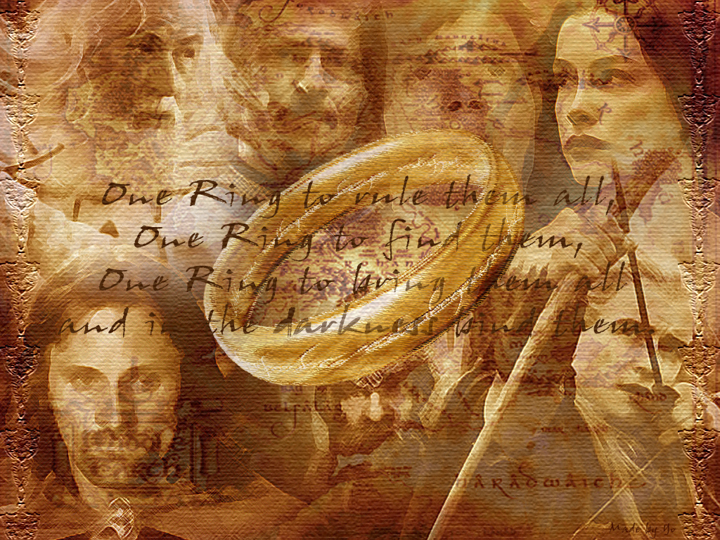 The One Ring - Lord of the Rings Wallpaper (3717128) - Fanpop