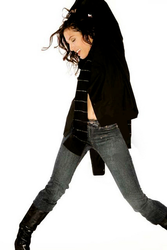 Lisabians Hintergrund with an outerwear, a hip boot, and a legging called The Photoshoots that made me a Lisabian! ;)