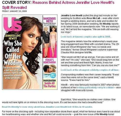 US Magazine article