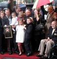 Walk Of Fame Star Unveiling