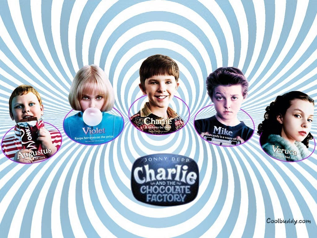 Charlie And The Chocolate Factory Wallpaper