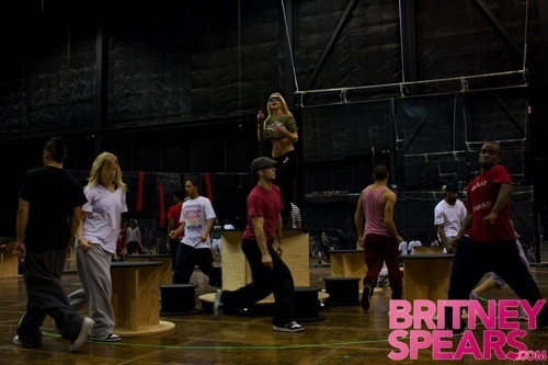 Your First Look at Britney's Tour
