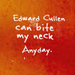 edward - twilight-quotes icon