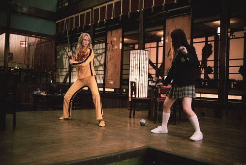 Kill Bill wallpaper containing tights called kill bill