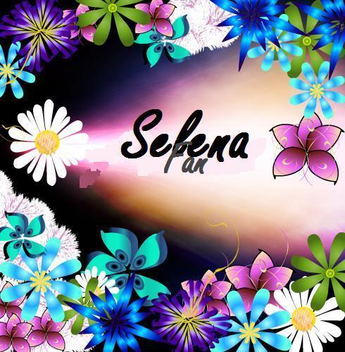 selena fan flowered