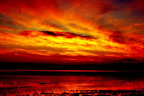 A Bleeding Sky