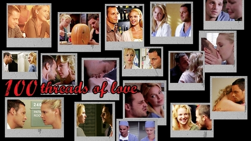 Alex and Izzie wallpaper possibly containing anime called AI<333
