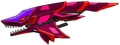 An original zoid of mine, the Mach Dragon Crimson Hunter - zoids fan art