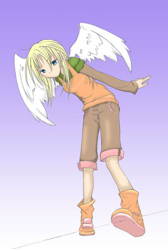 Maximum Ride wallpaper probably containing anime entitled Angel
