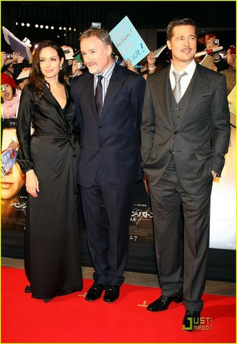 Angelina @ Curious Case.. Premiere Tokyo jepang