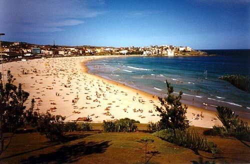 Australia wallpaper possibly with a spiaggia and a seashore called Bondi spiaggia