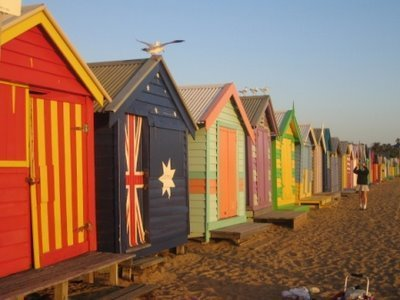 Brighton সৈকত Bathing Boxes
