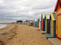 Brighton spiaggia Bathing Boxes