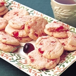 cerise Icebox biscuits, cookies
