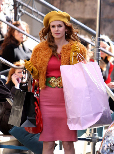 Confessions of a Shopaholic - On Set