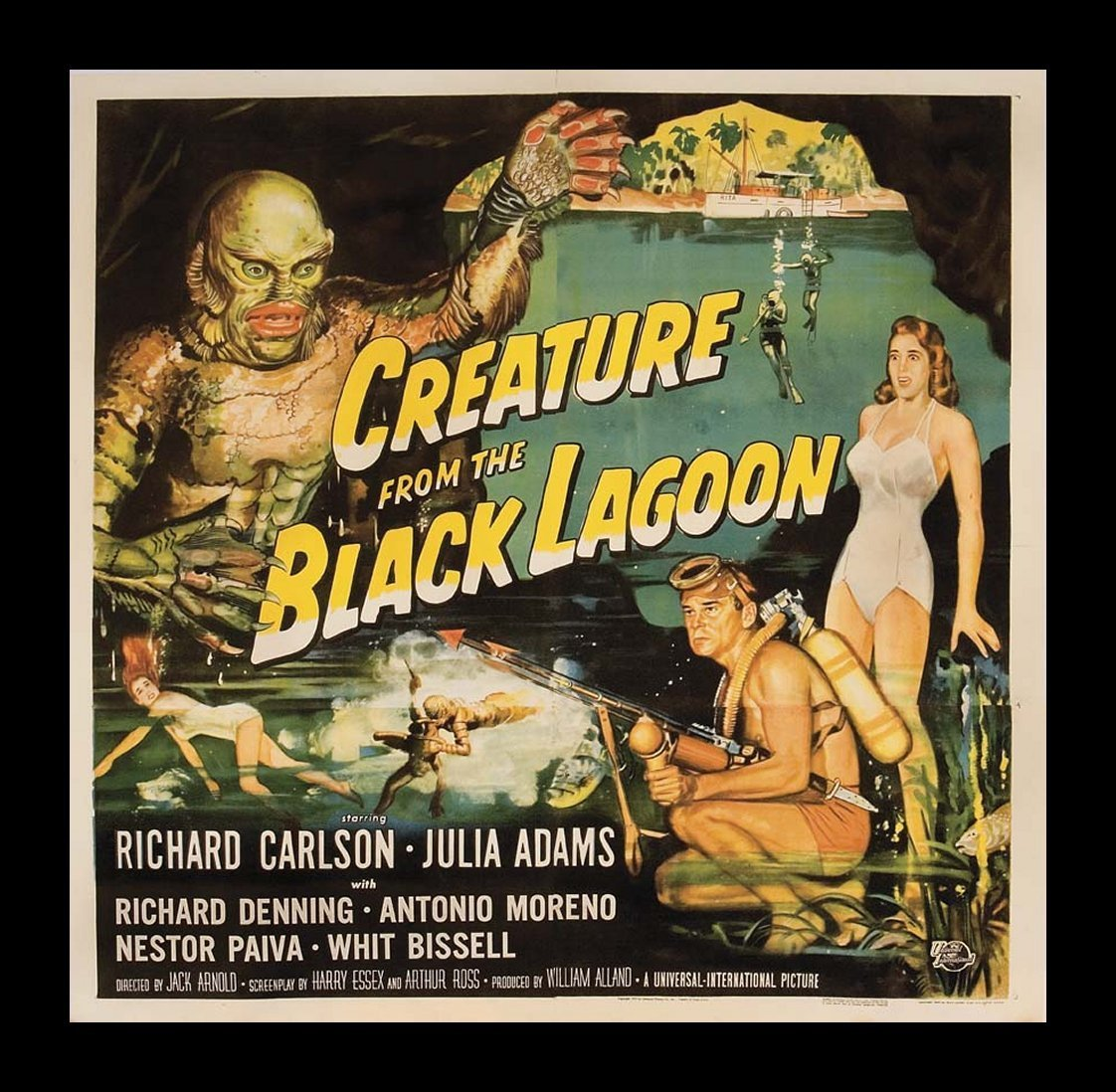Creature From The Black Lagoon - Classic Science Fiction ...