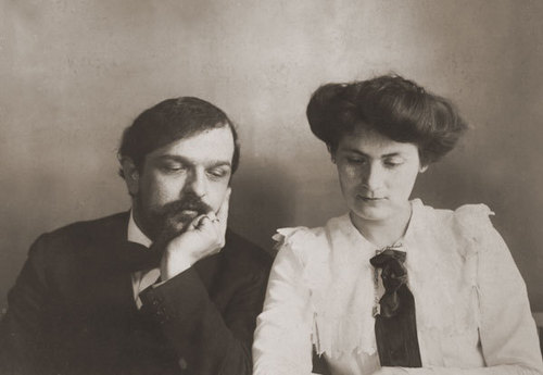 Debussy and Wife