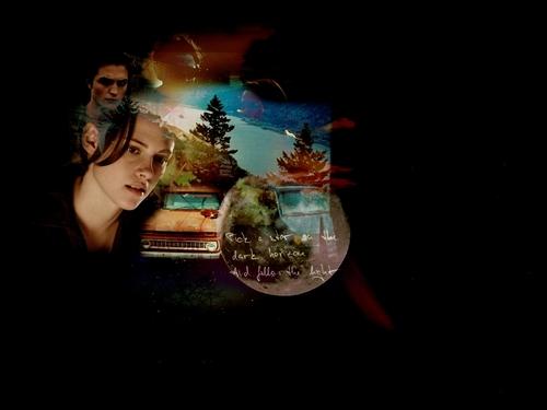 Edward & Bella fondo de pantalla