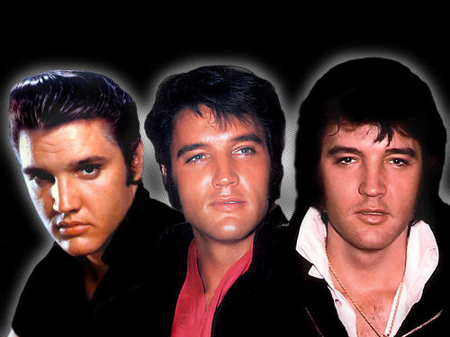 Elvis Presley Hintergrund probably with a portrait titled Elvis