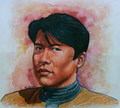 Ensign Harry Kim Painting by ~ssava