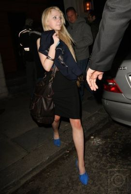Evanna Lynch at Emma Watson's 18th B'day party