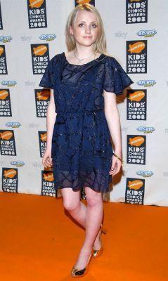 Evanna Lynch at Nickelodeon's Kids' Choice UK Awards