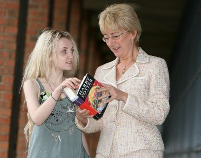 Evanna Lynch at Talented Youth Centre