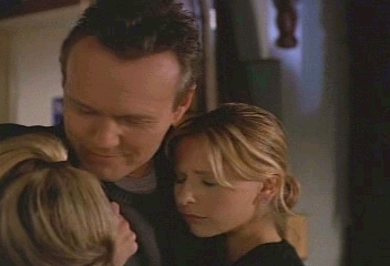 Giles, Buffy, and Anya
