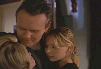 Giles, Buffy, and Anya