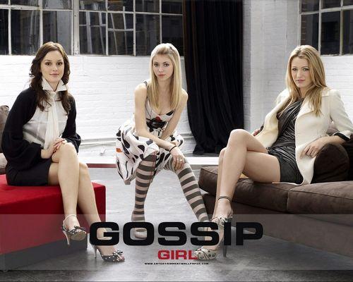 Blake Lively wallpaper containing bare legs titled Gossip Girl