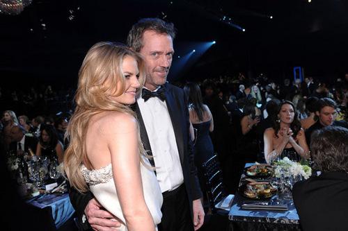 Hugh and Jennifer at SAG Award 2009