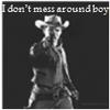 I Don't Mess Around boy