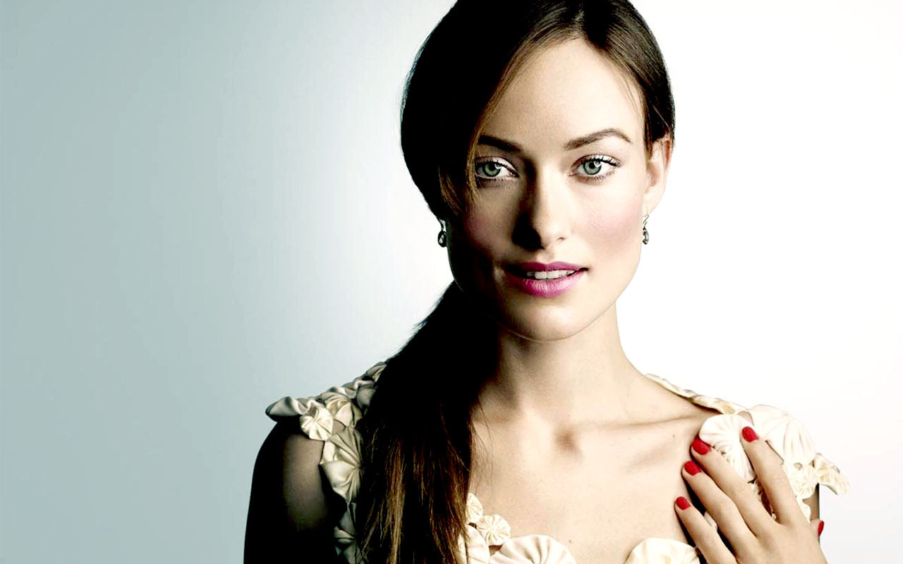 Olivia Wilde InStyle Outtakes Wallpaper Olivia Wilde