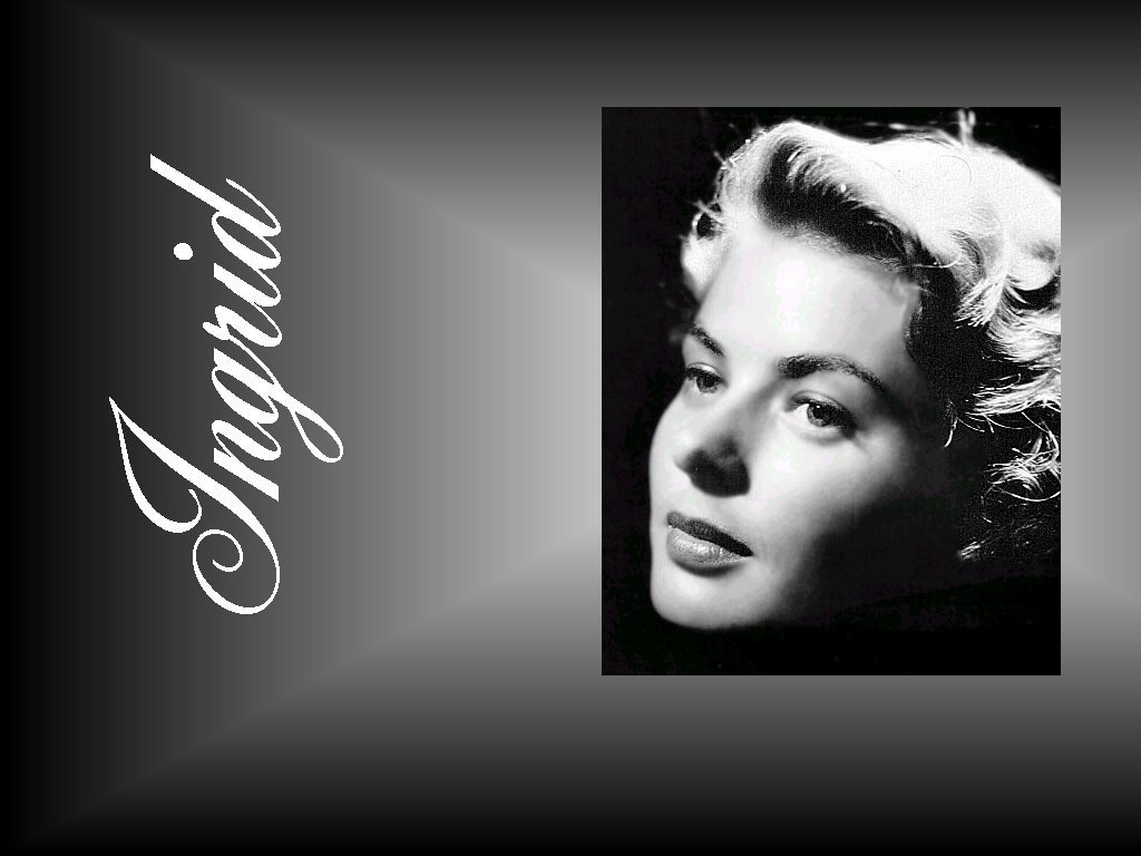 Ingrid Bergman - Gallery Colection