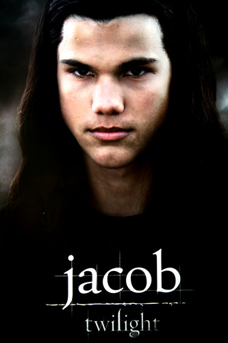 Twilight Series wallpaper with a portrait entitled Jacob Black Poster