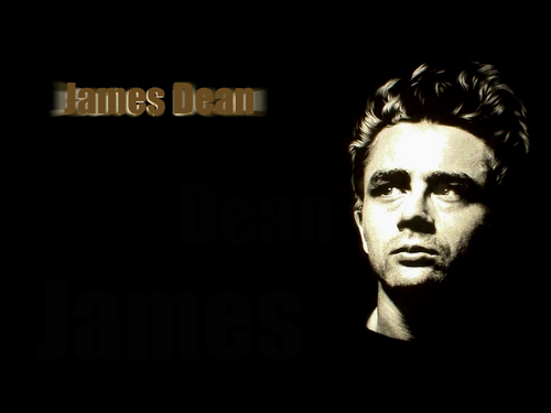 James Dean wallpaper possibly containing a concert and a portrait titled James Dean