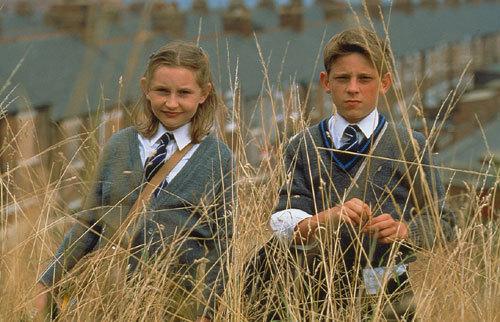Jamie Bell as Billy Elliot, Nicola Blackwell as Debbie Wilkinson