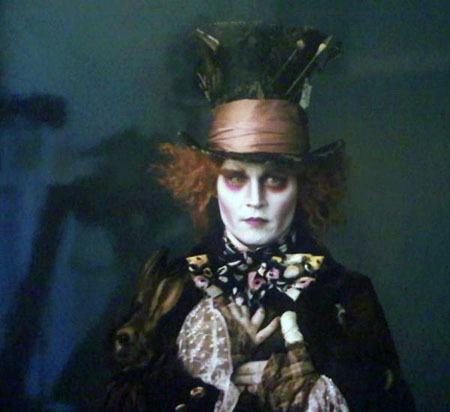 Johnny Depp as the Mad Hatter - alice-in-wonderland-2010 Photo