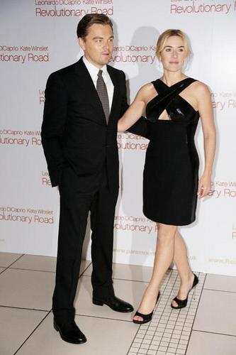 Kate & Leo at the UK Premiere of RR