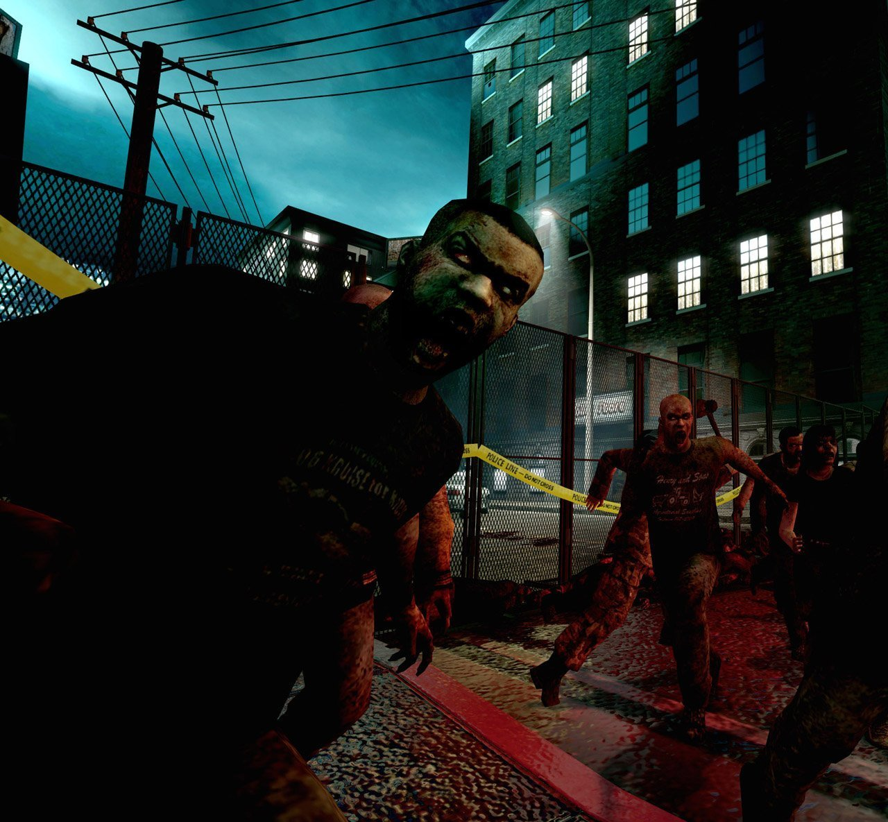 Cartoon of xbox 360 left 4 dead  xxx comic