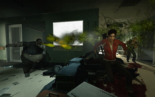Left 4 Dead fondo de pantalla possibly with a living room, a drawing room, and a parlor called Left 4 Dead