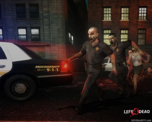 Left 4 Dead fondo de pantalla possibly with a calle titled Left 4 Dead