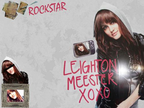 Leighton Meester, Nylon kertas dinding