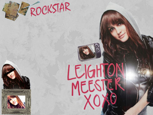 Leighton Meester Wallpaper- Nylon