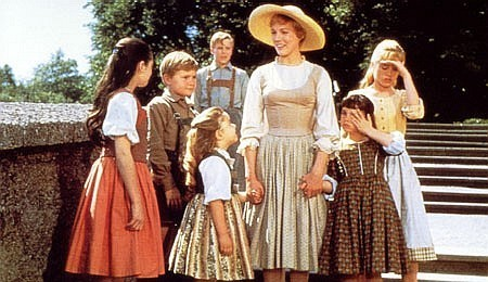 Maria and the Von Trapp children