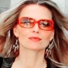 Actresses photo with a portrait and sunglasses titled Michelle Pfeiffer