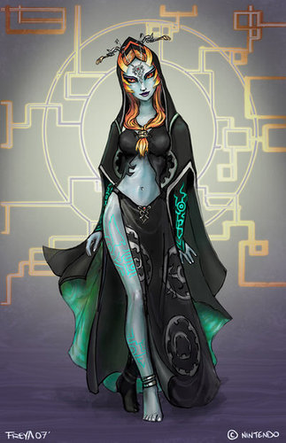 Midna's True Form - the-legend-of-zelda Fan Art